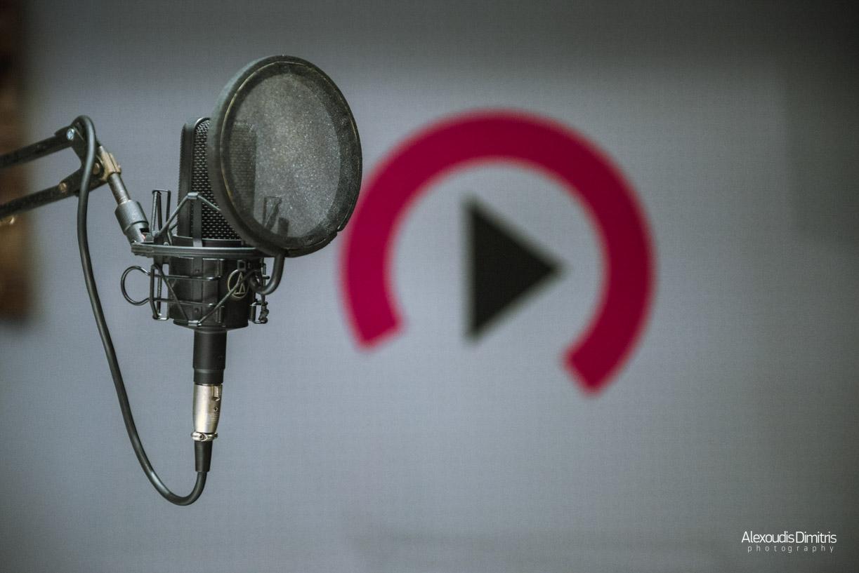 To νέο studio του Heat Radio 88,3