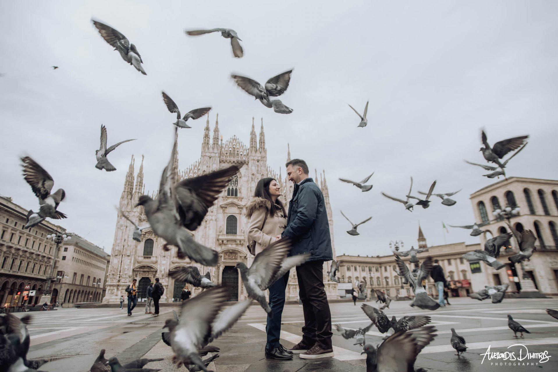 Γεωργία & Κώστας Pre Wedding Milano